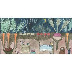 Cozy Beneath the Garden Art Print