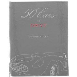 50 Cars To Drive Hand Bound Collector's Edition Book