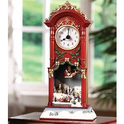Musical Pendulum Choir Christmas Clock