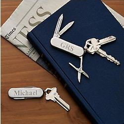 Personalized Stainless Multi-Tool Key Chain