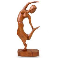 Spirit Dancer Wood Sculpture