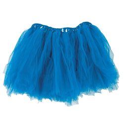 Adult Blue Tulle Tutu Skirt