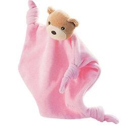 Lilirose Bear Pink Velour Doudou