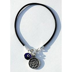 Protection Solomon Seal and Evil Eye Charm Bracelet