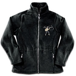 Elvis: Dressed To Thrill Women's Fleece Jacket
