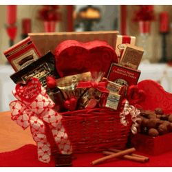Cupid's Choice Valentine Chocolate Gift Basket