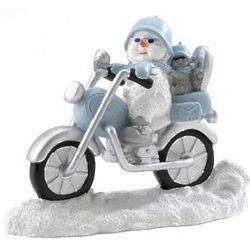 Snowbuddies Biker and Pal Figurine