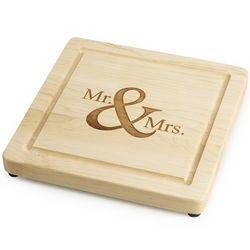 Mr. and Mrs. Maple Cutting Board