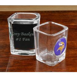 Engraved NFL Shot Glass