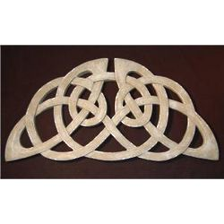 Stone Colored Celtic Wall Plaque