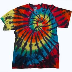 Rainbow Fireworks Tie Dye