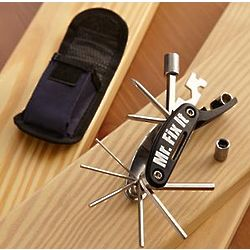 Personalized Multi-Tool Gadget with Belt Pouch