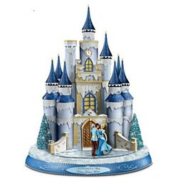 Disney Dreams Come True Illuminated Musical Castle Sculpture
