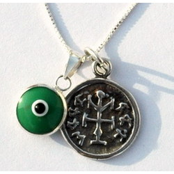 Evil Eye and Winning Seal Necklace