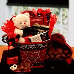 Be Mine Valentine Gift Tote