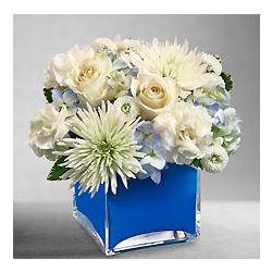 Colors of Love Blue Floral Bouquet