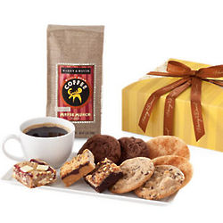 Coffee and Bakery Treats Gift Box