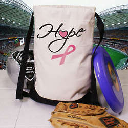 Hope Cancer Awareness Sports Bag