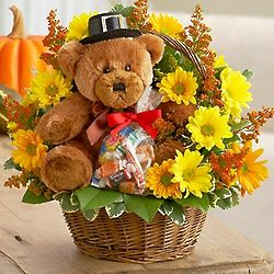 Lotsa Love for Fall Floral Basket