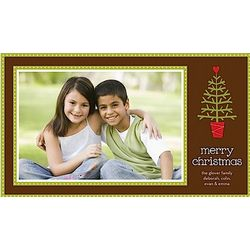 Oh Christmas Tree Holiday Photo Card Set