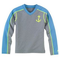 Boy's Paddle In Long Sleeve Rash Guard UPF 50