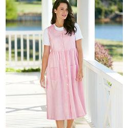 Seersucker Jumper Dress