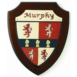 Personalized Coat of Arms Shield Plaque