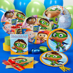 Super Why Standard Birthday Party Pack