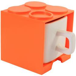Orange Cube Mug