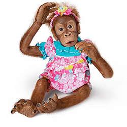 Poseable Lollie Orangutan Child Doll