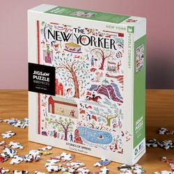Stories of Spring New Yorker Puzzle