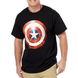 Captain America Light Shield Men's T-Shirt