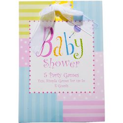 Baby Shower Game Book for 8