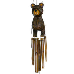 Barry the Bear Wind Chime