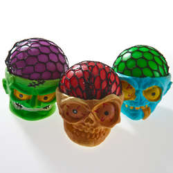 Scary Monster Squeeze Ball