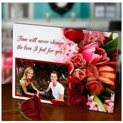 Floral Bouquet Photo Frame
