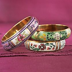 Sarai Tareen Garden Bracelets