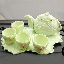 Natural Lotus Leaf Tea Set