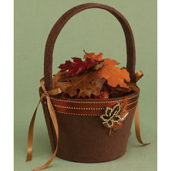 Fall in Love Flower Girl Basket