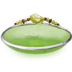 Birth Month Color Glass Bowl