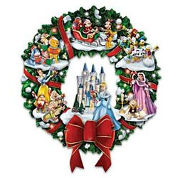 The Wonderful World of Disney Christmas Wreath
