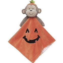 Pumpkin Monkey Security Blanket