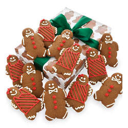 Holiday Hand Decorated Gingerbread Cookies