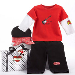 Baby Rock Star Sleep Set