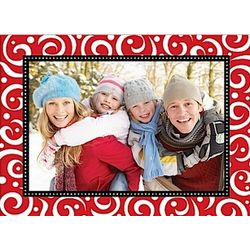 Swirls and Dreams Holiday Photo Card Set