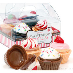 Cupcake Lip Gloss Set