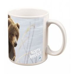 North America Grizzly Bear Mug