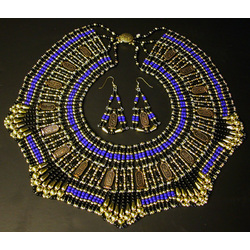 Egyptian Necklace and Earring Set