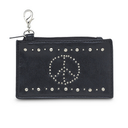 Peace Sign Coin Purse