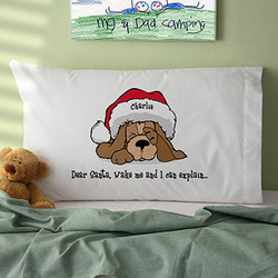 Dear Santa Personalized Pillowcase